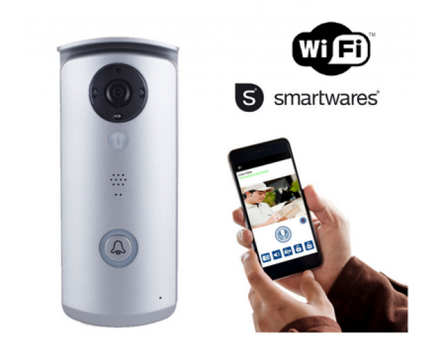 Wireless Video doorphone on WiFi Smart-Wares image