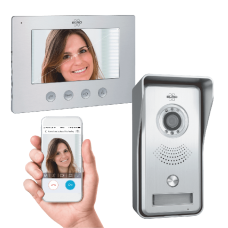 Video doorphone multi systeem +app
