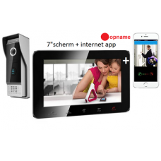 Video doorphone multi systeem + recording +app black