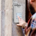 Doorphone for 3 appartments image
