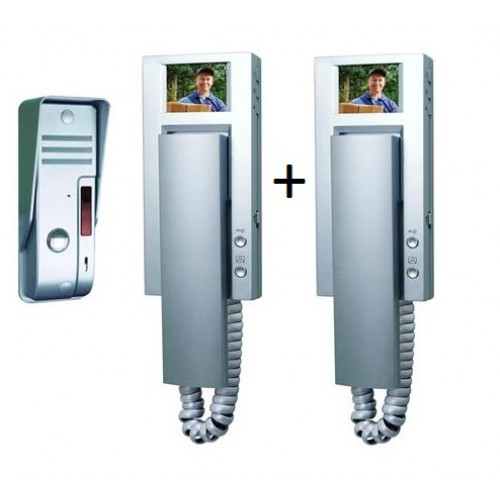 Video Doorphone with color screen VD54A-DUAL image
