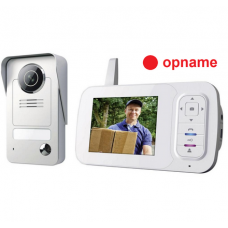 Wireless Video doorphone color set VD38W