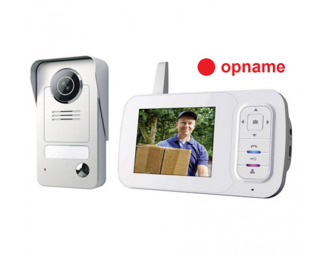Wireless Video doorphone color set VD38W image