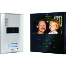 Video door intercom with 7 inch color screen