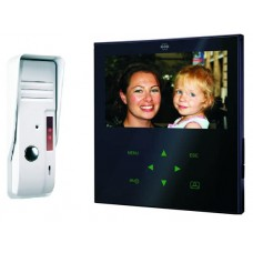 Video door intercom with inch  color screen